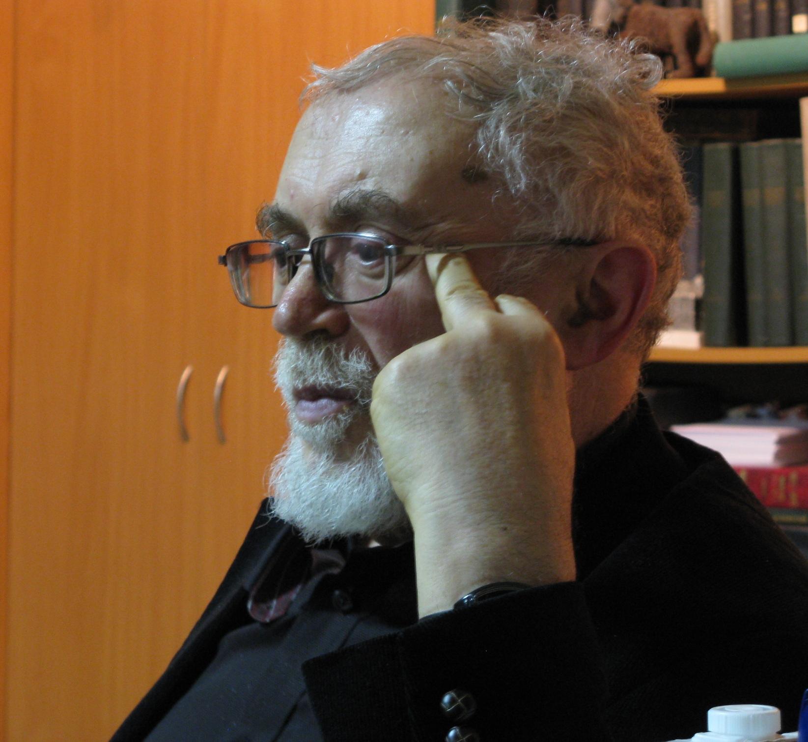 Selim Yalkut, author of the Peace of Boris Lekar